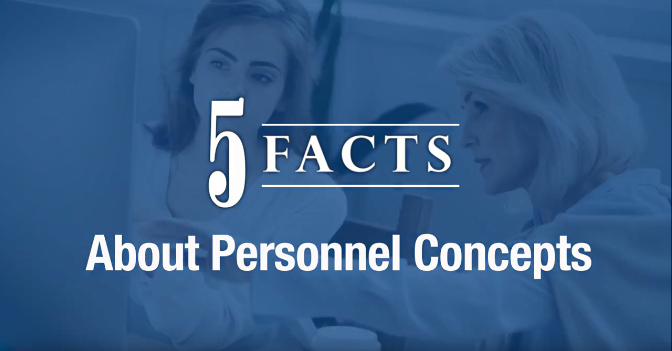 Five Facts About Personnel Concepts