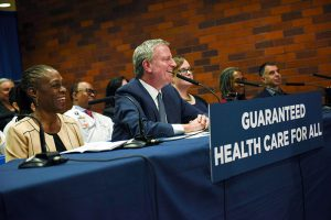nyc-mayor-de-blasio-health-care-plan