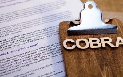 Free COBRA Premiums Go into Effect April 1